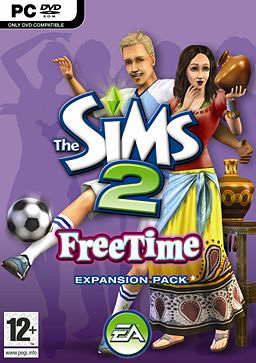 Copertina The Sims 2 Free Time