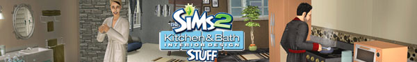 Sims 2 Kitchen Bath stuff